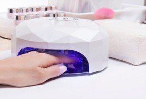 UV-lampe i bruk
